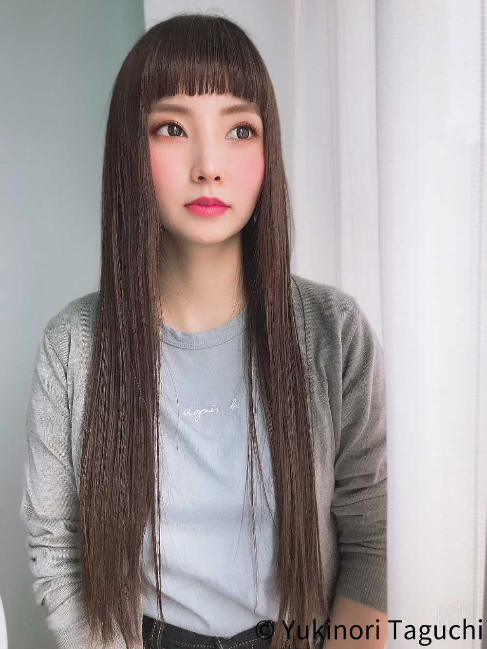 ぱっつん 前髪