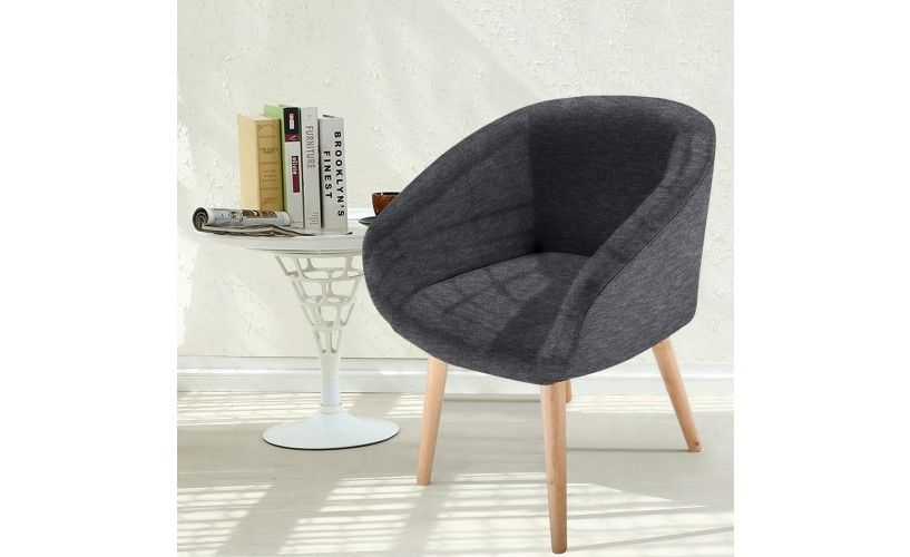 Chaise Fauteuil Style Scandinave Frost Gris Fonce Fauteuil Style Scandinave Chaise Fauteuil Chaise Style Scandinave