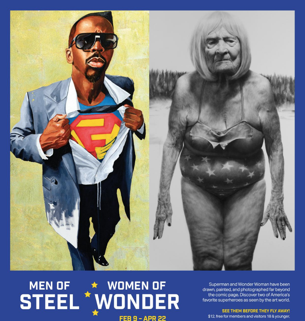 Men of Steel, Women of Wonder. FEBRUARY 9 APRIL 22, 2019
