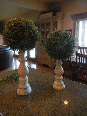 Easy And Inexpensive Diy Topiaries Topiary Diy Topiary