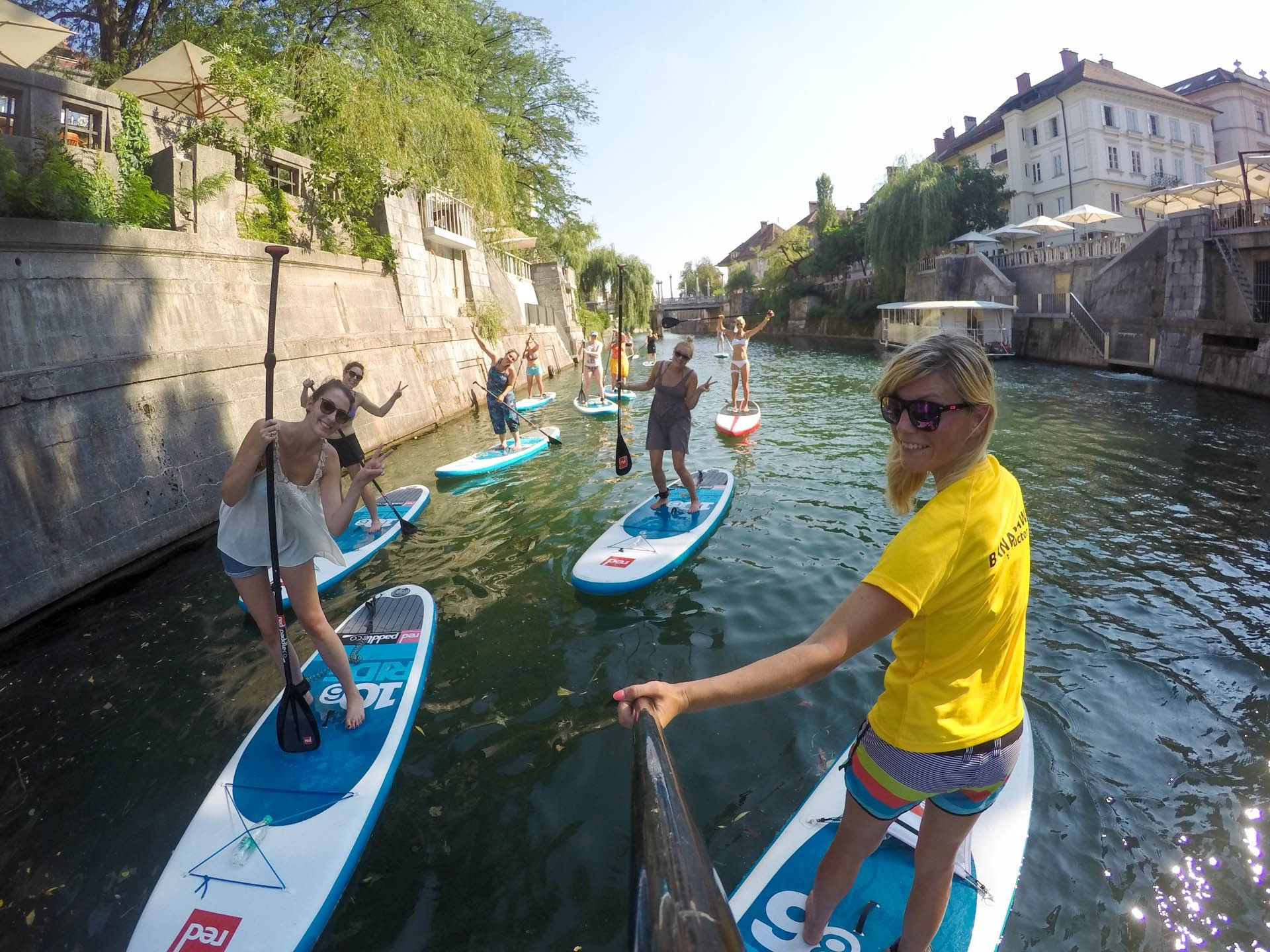 Active SUP Tour Day Standup Paddling Ljubljana Slovenia Join - 5 gems that make slovenia the adventure capital of eastern europe