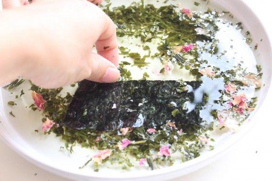 Herbal Seaweed MaskDIY