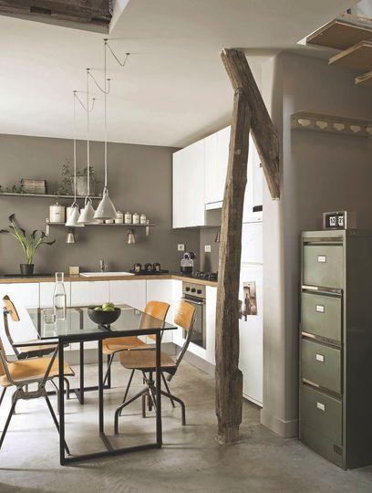 Minimal Rustic Interior Design Kitchen Old Apt
