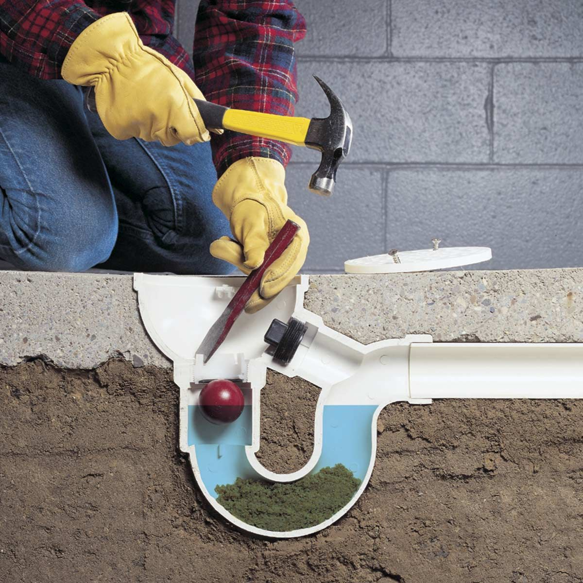 How to unclog anything floor drains basement flooring