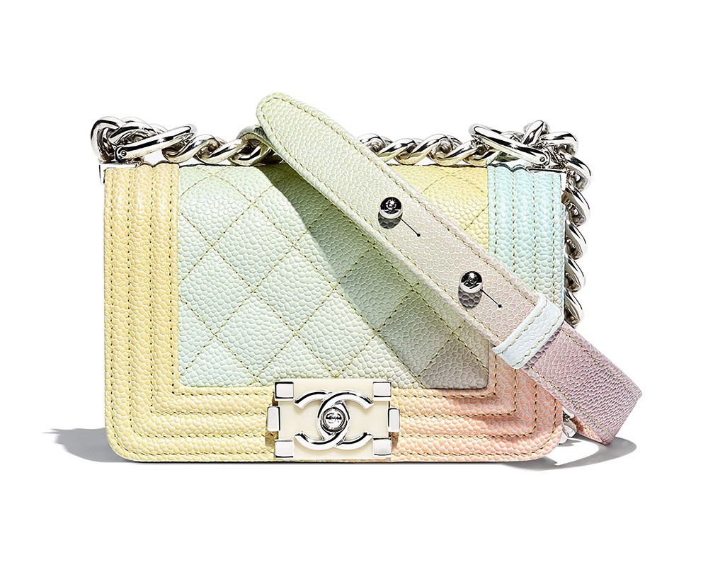 Rainbow Chanel Boy Bags are Back for Pre-Collection Spring 2018, Along With a New Mini Size