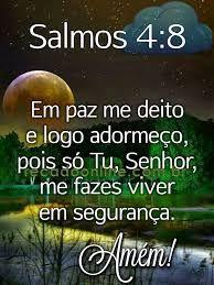 Salmos 4 8 Em Paz Me Deito E Logo Adormeco Com Imagens Em Paz