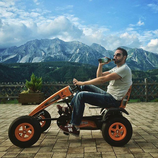Schallalalaladming - wo deppat sein so kitschig schön ist! ⛰🍻🏎 #schladming #zweiteheimat #styria #austria #beer #gokart #igspiasleben