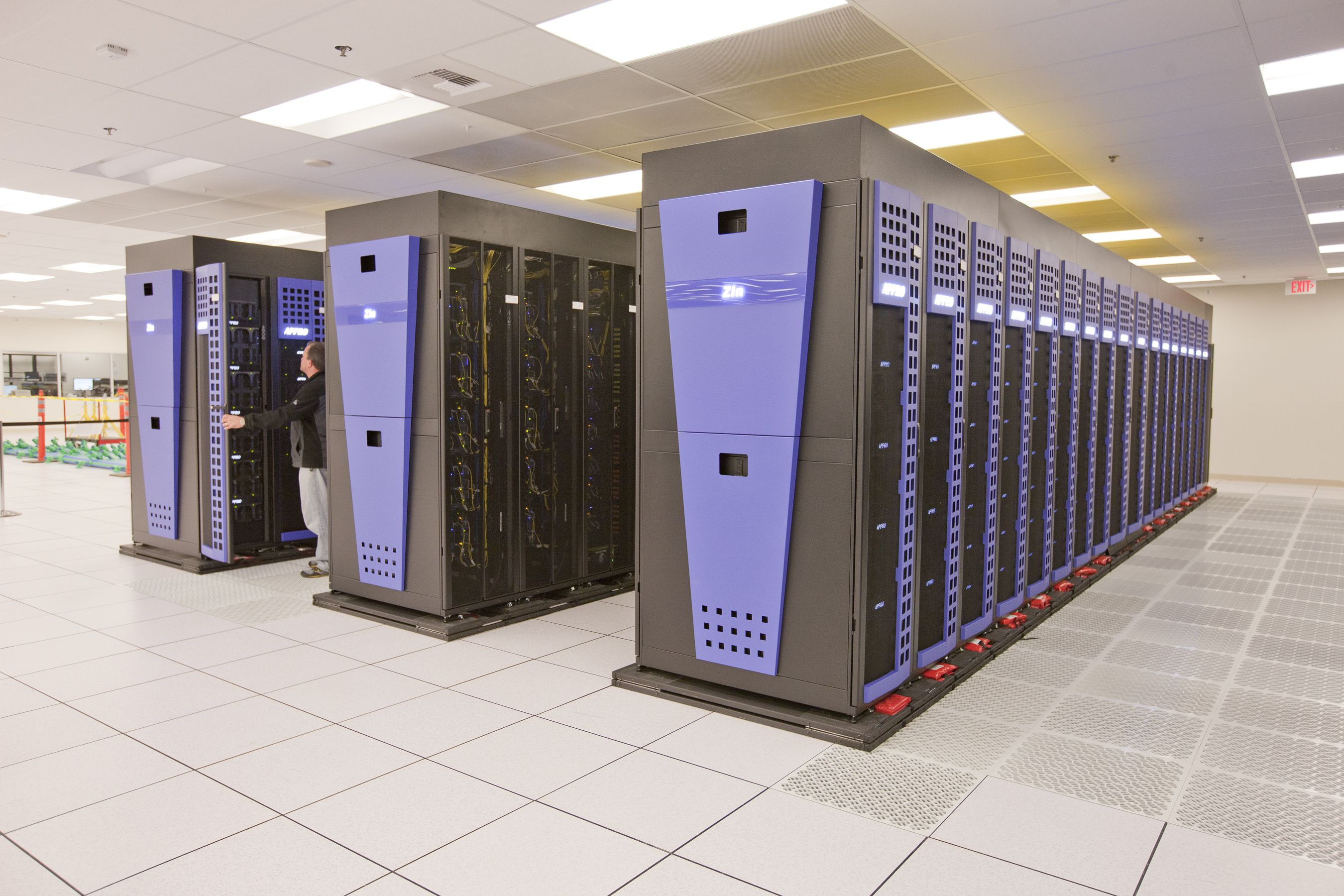 Zin is a 773.7 teraflop supercomputer located at Lawrence ...