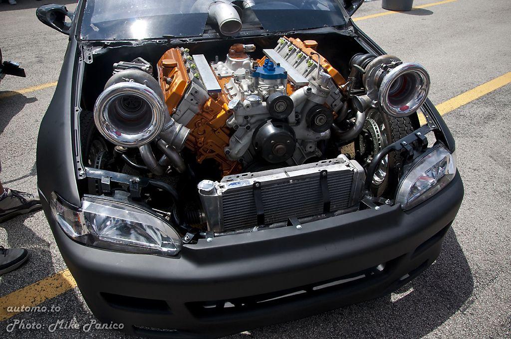 Jdmachine v8 twin turbo honda civic vehicles for V8 honda civic