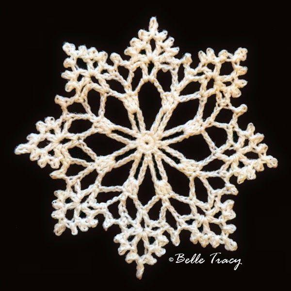 Snowflakes # 5 | Crochet stitches and motifs | Pinterest ...
