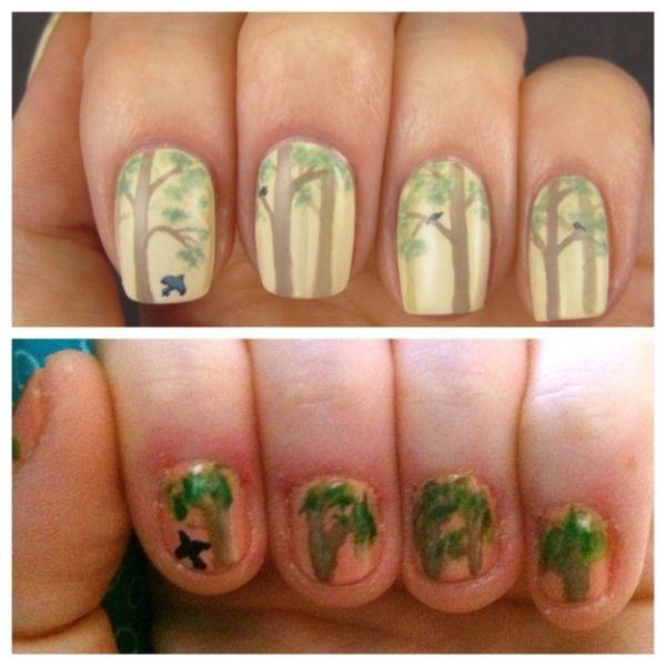 Nails gone wrong   Pinterest Fails   Pinterest   Expectation vs ...