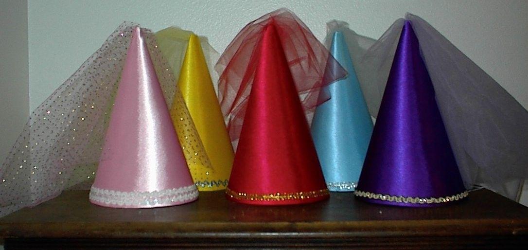 Cute Princess Medieval Cone Hat, so adorable