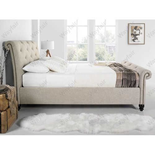 found it at wayfaircouk tingha upholstered bed frame