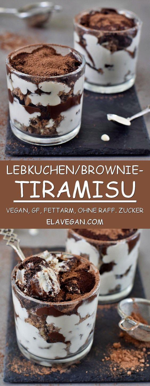 Lebkuchen Tiramisu im Glas | vegan und glutenfrei - Elavegan
