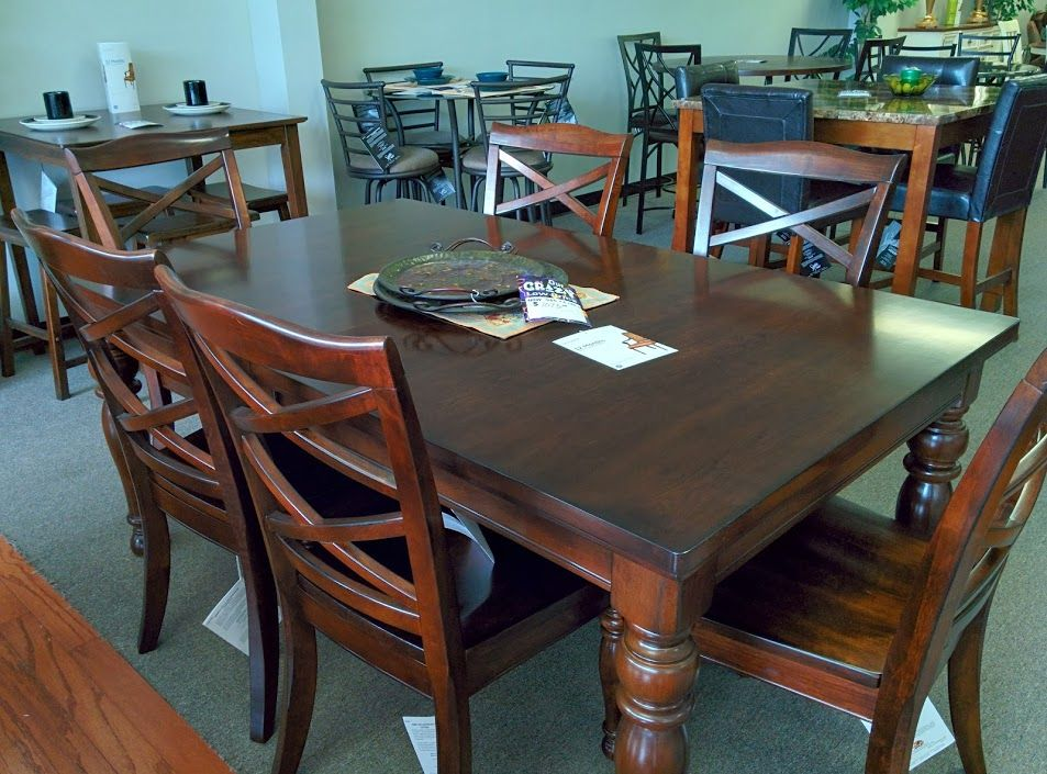 This Warm Rustic Beauty Of The Porter Dining Room Collection By Ashley Furniture Uses A Deep Brown Finish And Eas Ashley Furniture Dining Room Sets Furniture
