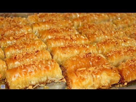 البقلاوة التركية شاف رشيد Chef Rachid Baklawa Turque Samira Tv Youtube Recipes Desserts With Biscuits Cooking Recipes