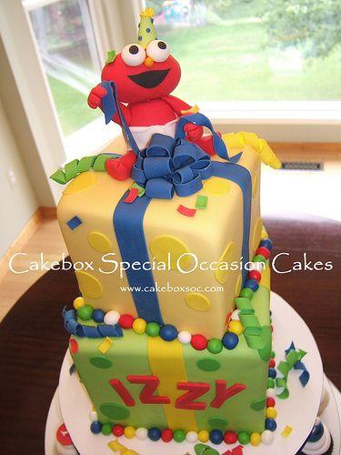 Baby Elmo Birthday Cake Baby elmo Elmo birthday cake and Elmo
