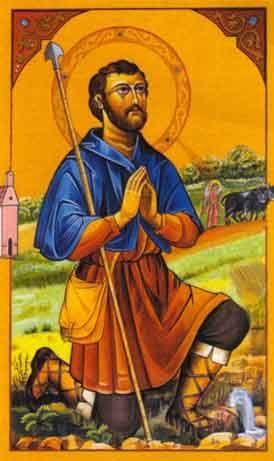 San Isidro Labrador St Isidore The Farmer San Isidro Saints