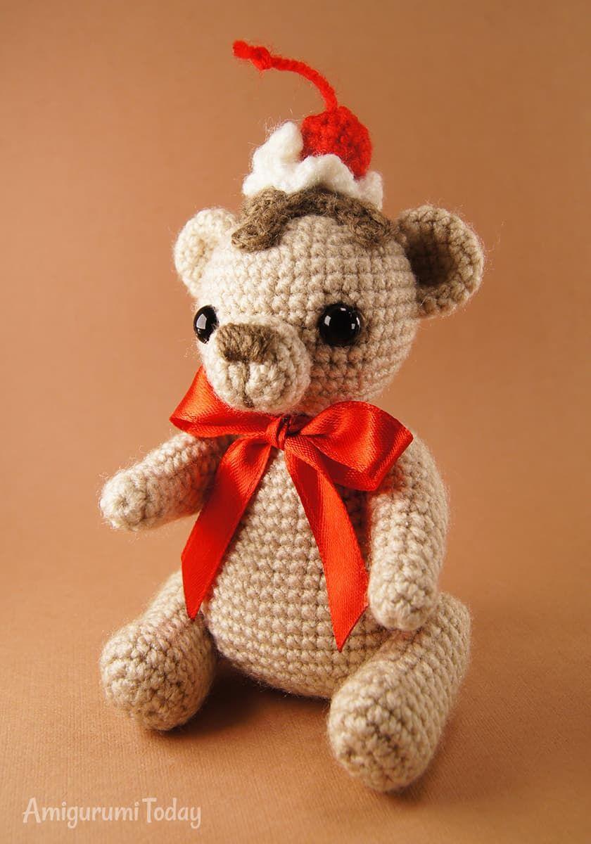 Crochet Cake Bear Pattern Crochet Cake Crochet Bear Crochet