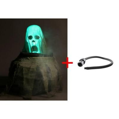 Animated Cauldron and Rising Ghost with Fog Hose-5124399 - The Home Depot