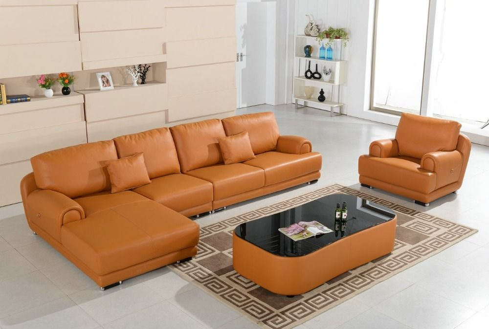2016 Chaise Beanbag Living Room Set Modern Muebles In Direct Factory Unique Latest Drawing Furniture Cream