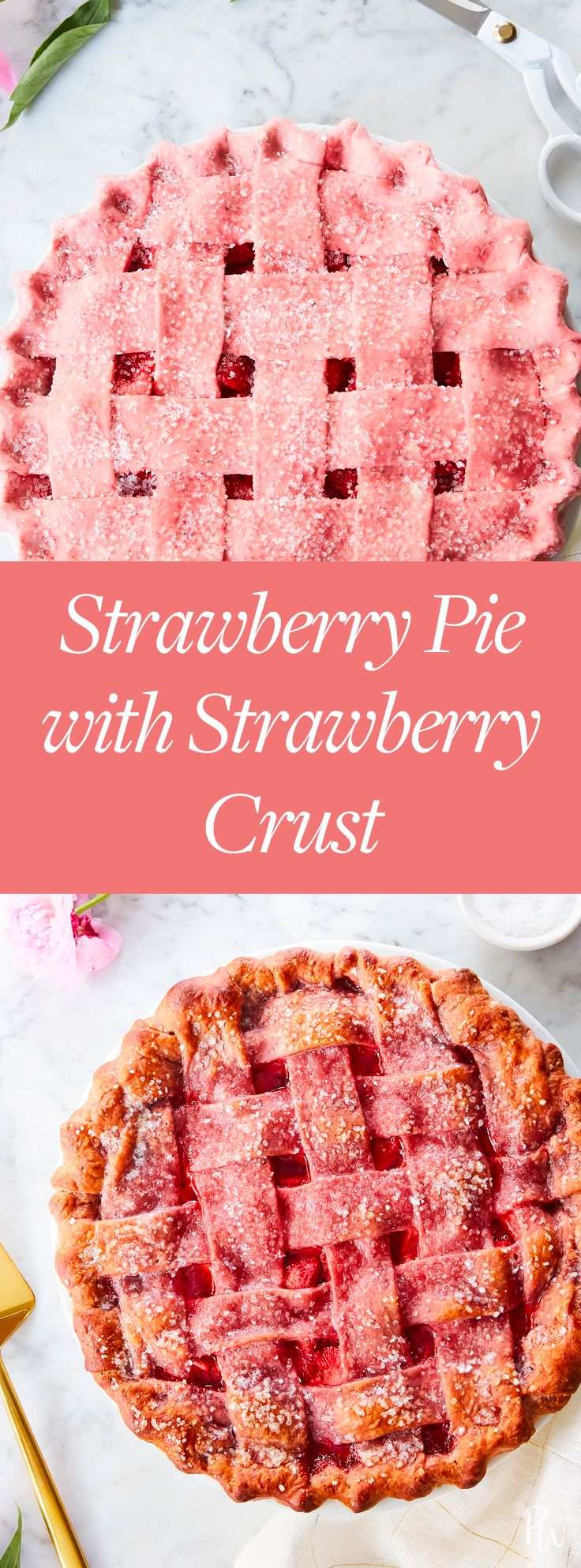 Strawberry Pie with Strawberry Crust Strawberry Pie with Strawberry Crust