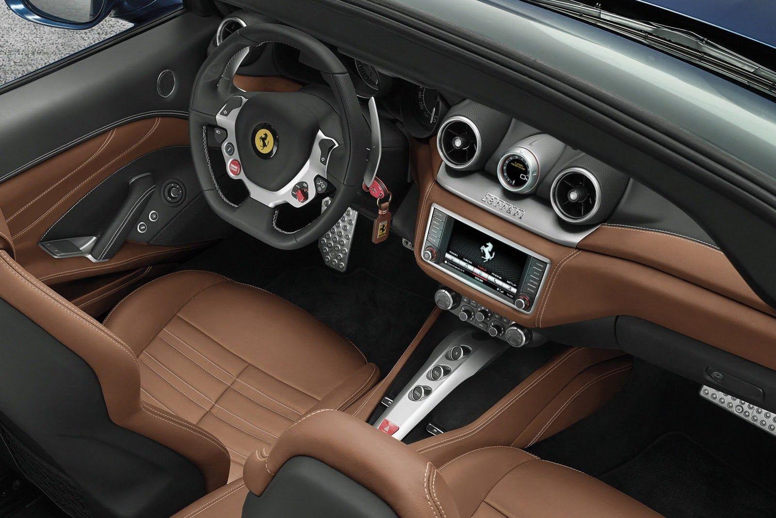 Wallpaper Ferrari California T interior | Ferrari Wallpapers ...
