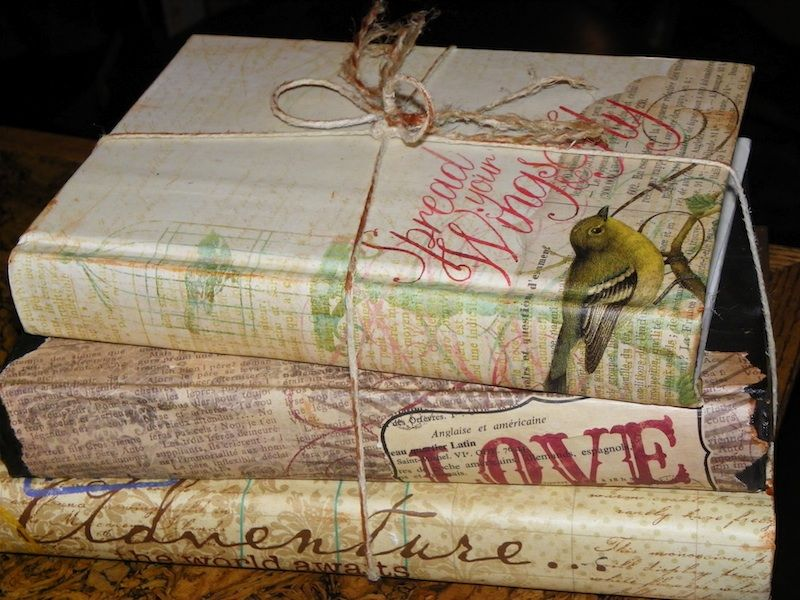 A new Look for an old bookthe uses for old books