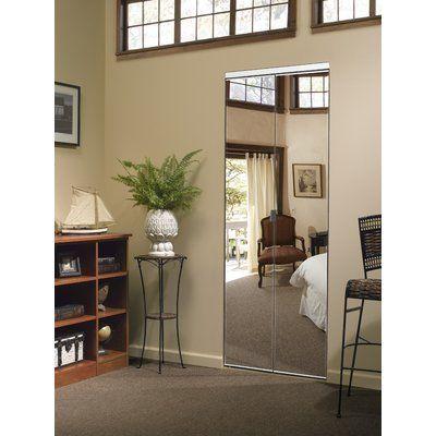 Custom Door And Mirror Mirrored Bi Fold Door Beveled Edge Mirror