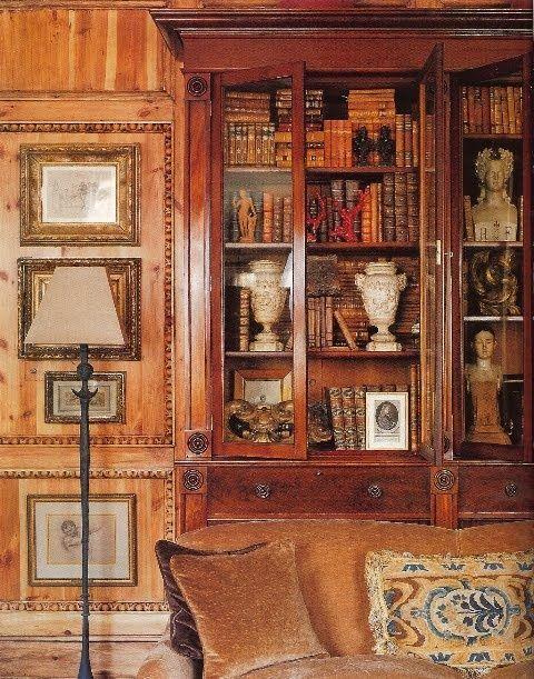 Gorgeous old wood paneling Interiors Pinterest Maison