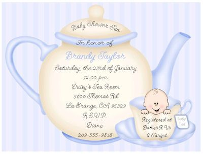 Google Image Result For Http://maxcdn.nexternal.com/keepsake/ · Tea Party  Baby ShowerBoy ShowerInvitation ...