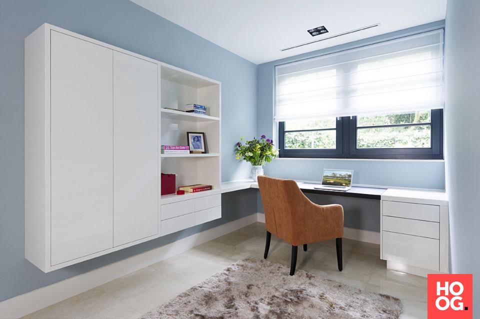 Moderne Interieur Ideeen : Moderne werkkamer in luxe villa interieur ideeën furniture