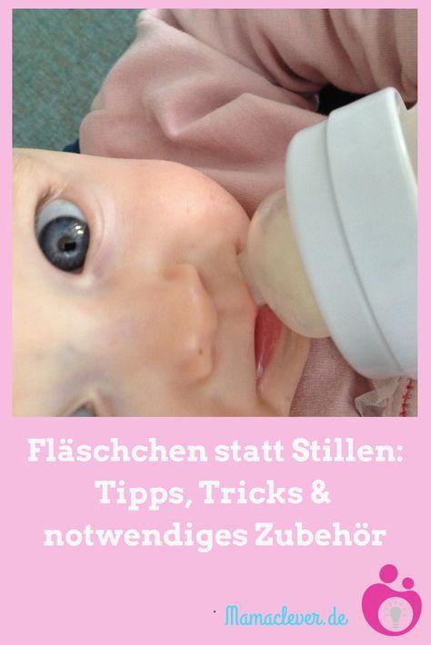 Flaschenfütterung des Babys: Tipps und Zubehör ...