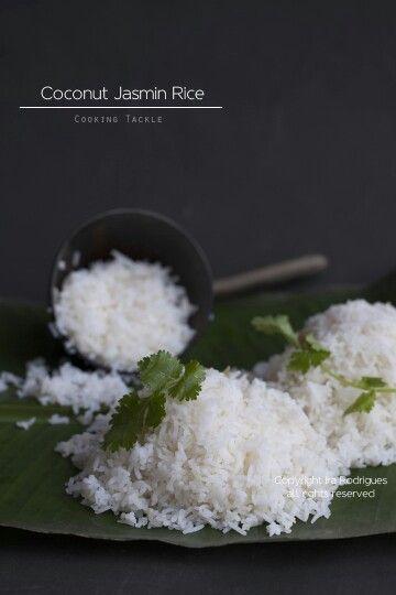 Coconut Rice Jasmine Rice Recipes Coconut Jasmine Rice Coconut Recipes