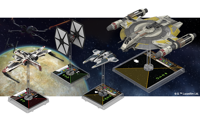 Announcing the Ninth Wave of X-Wing™ Starship Expansions
