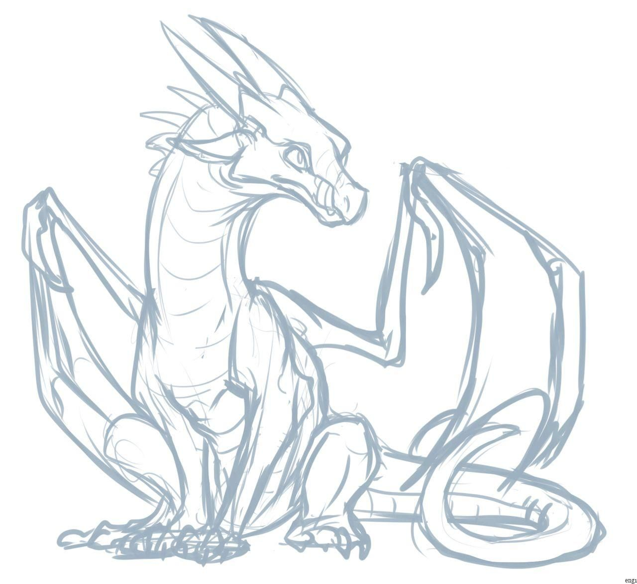 Doodle Of Starflight From Wings Of Fire Drawings En 2020 Bocetos De Animales Dibujo De Animales Bocetos