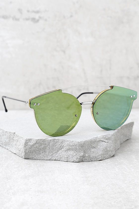 fc4f797da265 Spitfire Trip Hop 2 Gold and Yellow Mirrored Sunglasses