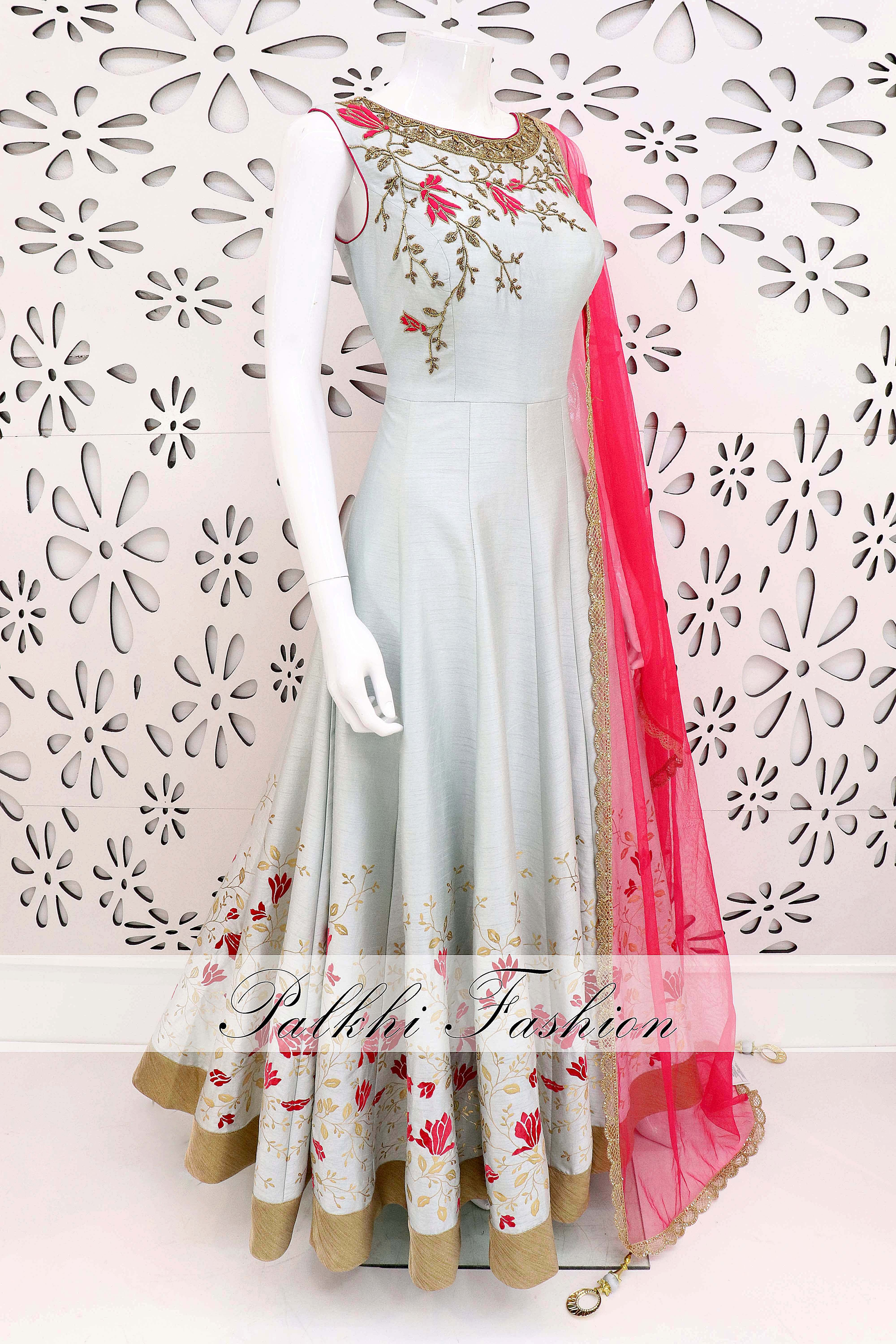 Palkhifashion exclusive hand worked designer outfit beautiful