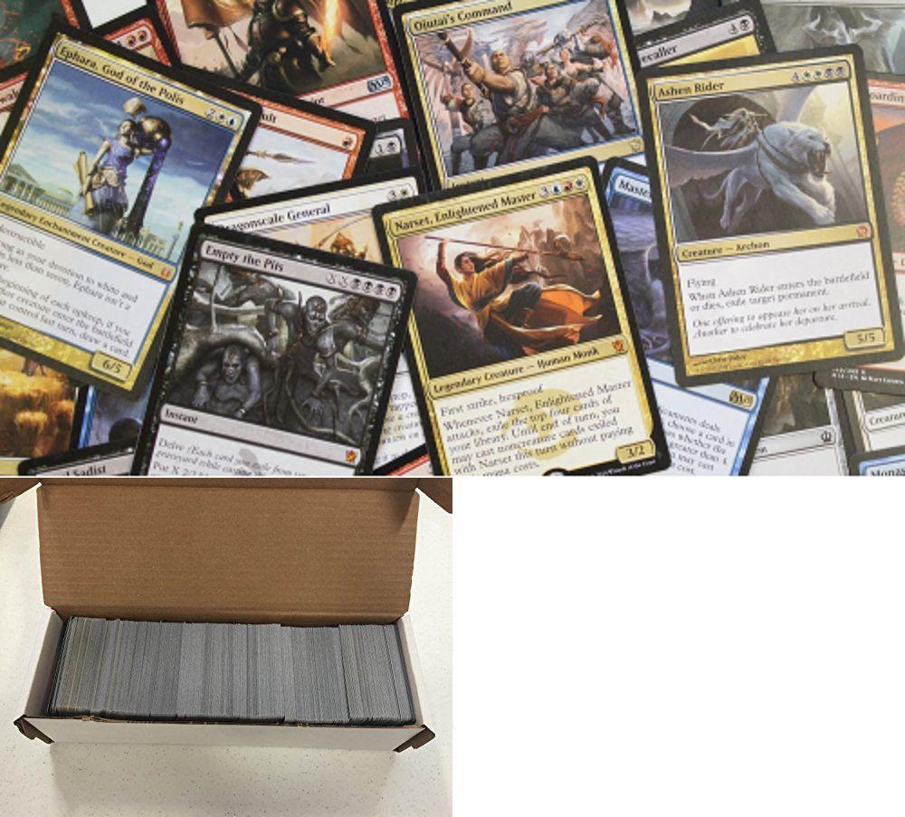 1000 Mtg Magic the Gathering Cards Lot Collection Card W// Bonus 25 Rare New Deck