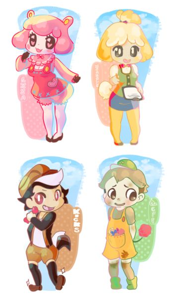 Pin By Olivia Mimi D On Games Animal Crossing Characters Animal Crossing Fan Art Animal Crossing