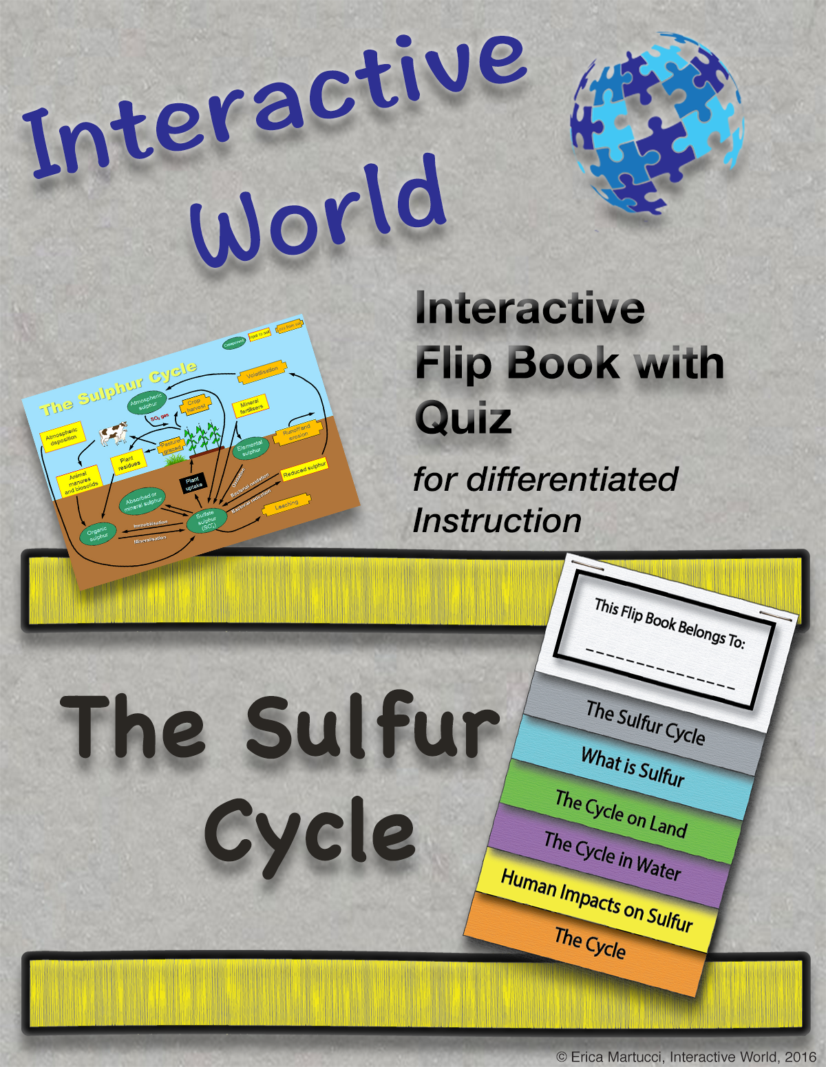 grades 7 12 includes two student version and teacher key detailed description of the importance of sulfur the cycle in nature human impact on the  [ 1200 x 1550 Pixel ]