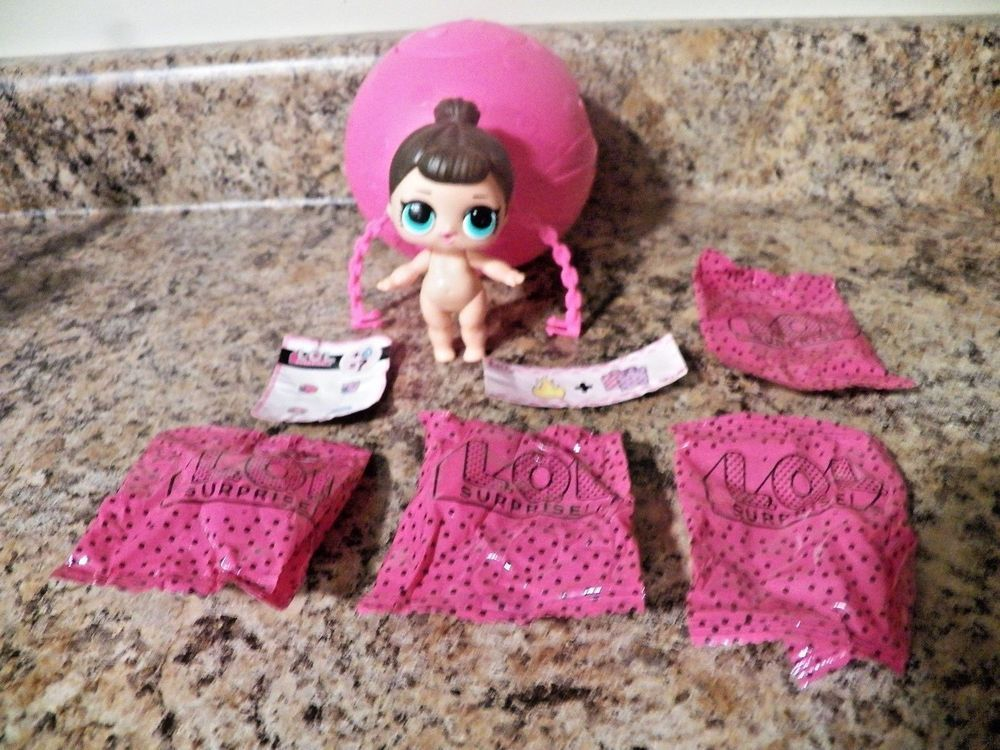 Lol Surprise L.O.L  Real Dolls Confetti Pop Under Wraps Series 4 Thrilla SDIT