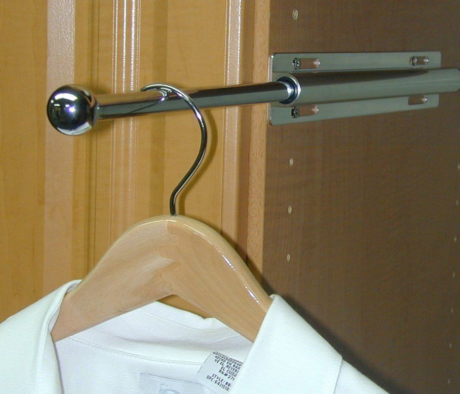 Merveilleux Closet Accessories | SpaceMan Home U0026 Office | Houston, TX   Telescoping  Valet Rod