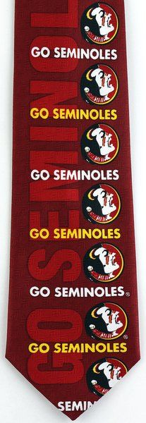 Florida State Go Seminoles Tie | Ties Just For You