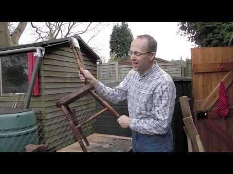 Analysing A Traditional Windsor Chair - YouTube