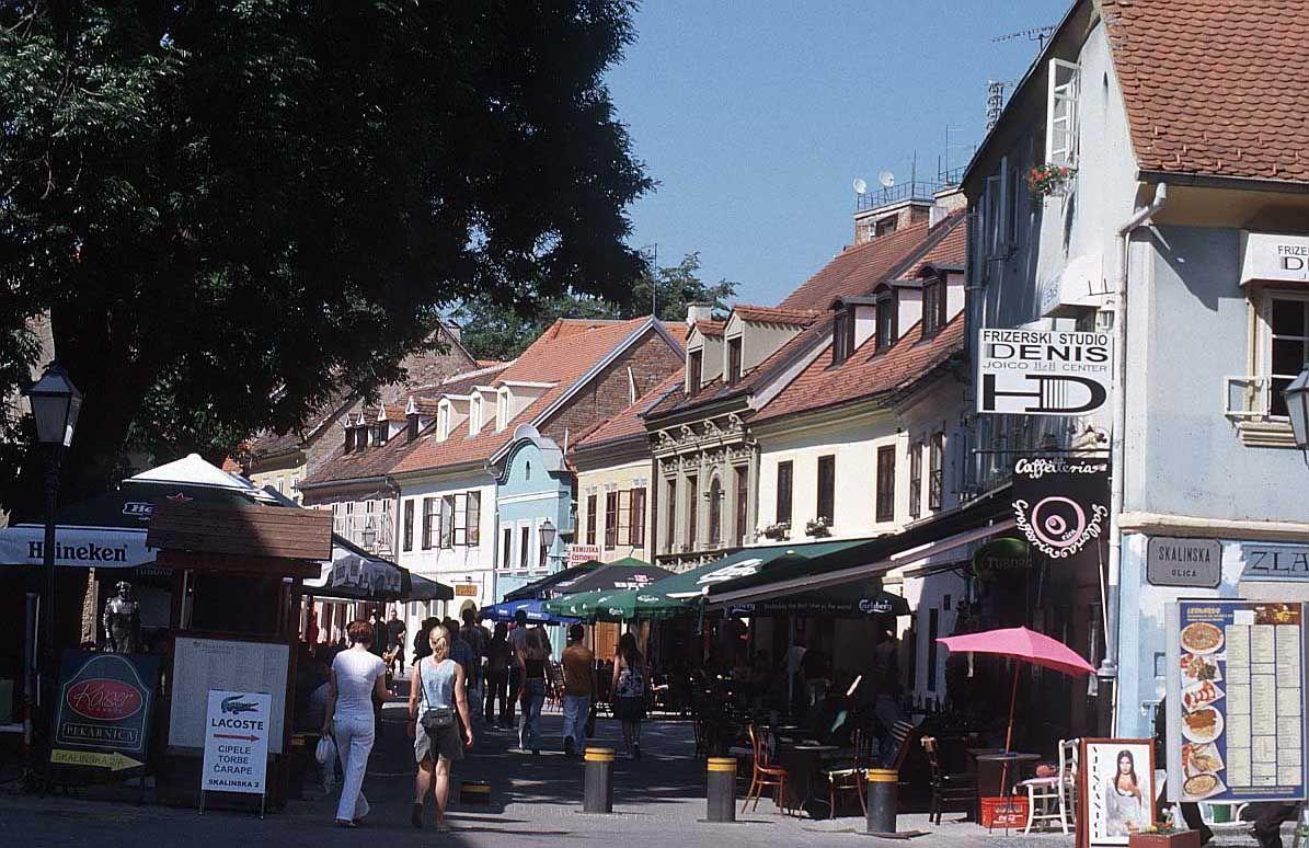 Tkalciceva Street Croatia Zagreb Zagreb Croatia