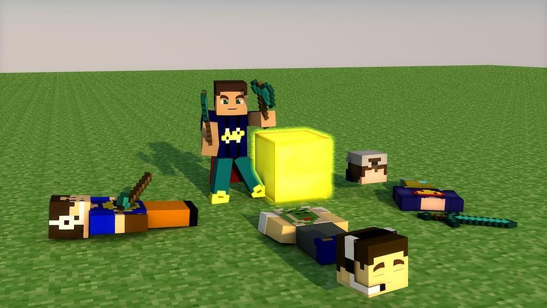 Render Of Me Winning The Hunger Games Made With Cinema D Dont - Minecraft hunger games spiele
