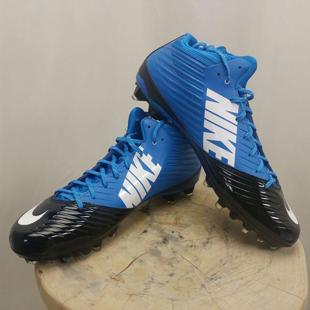 Mens sz 13 nike vapor speed 34 blue football cleats