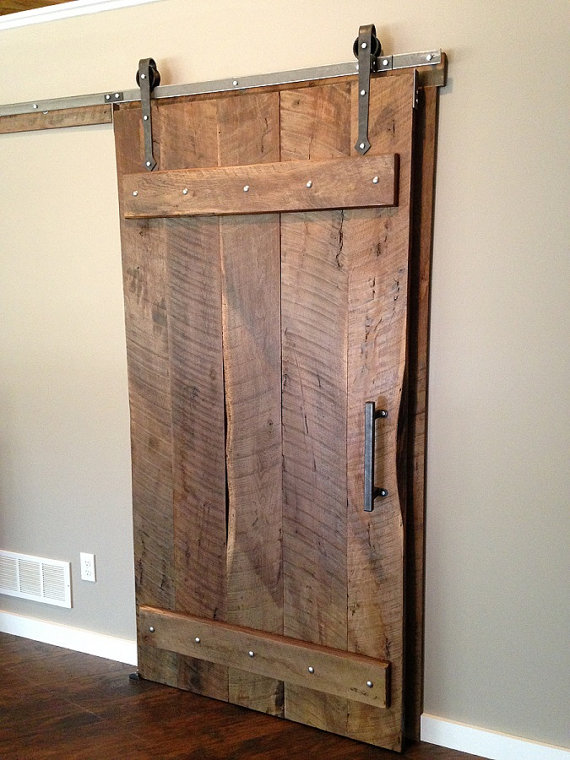 SALE Arrow Style Sliding Barn Door Kit w/ by InnovativeMetalcraft - Modelo De Puertas Corredizas