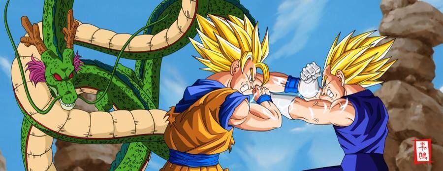 Goku Vs Bejita